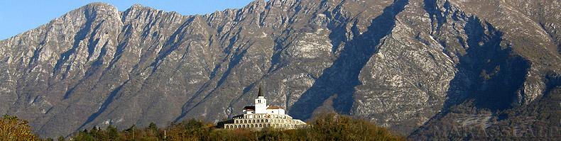 L'Ossario italiano a Caporetto