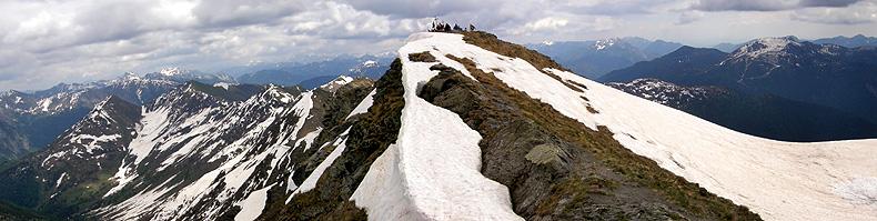 La cima del monte Crostis