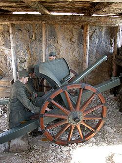 Cannone da 75 mm.
