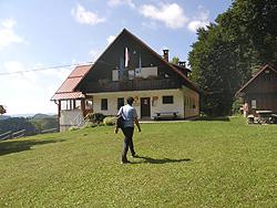 Planinska Koča na Ermanovcu