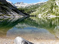 Il lago Krnsko jezero