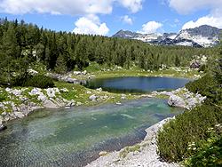 Dvojno jezero (lago doppio)