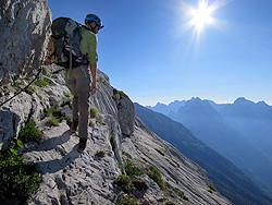 Salita al monte Jalovec