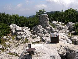 cima monte Mali Golaki