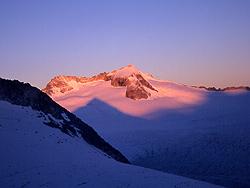 L'alba sul Corno Bianco