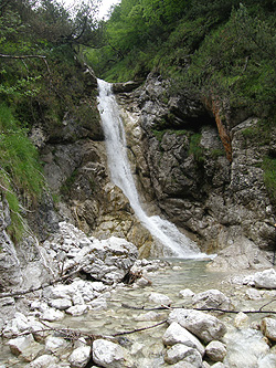 La cascata di Zot