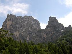 Sasso di Bosconero, Rocchetta Alta e Rocchetta Bassa
