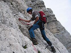 Croce di vetta Monte Canin