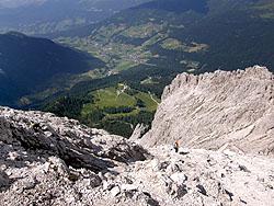 Panorama verso la Valle di Sesto