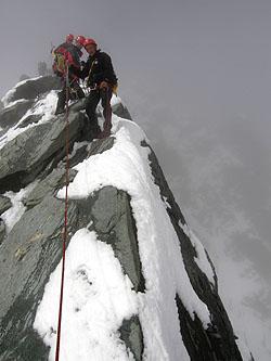 La cresta del Grossglockner
