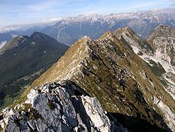 La cresta Vrata-Vrsic