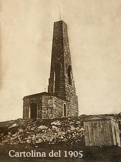Monumento al Cristo Redentore originale 1900