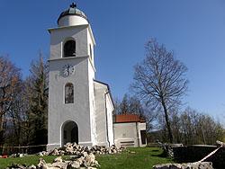 La chiesa in cima del Santa Maria