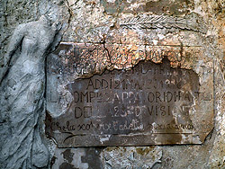 Ingresso Grotta della Vergine