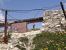 Trincea austriaca per mitragliatrici