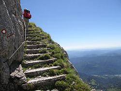 La scala degli alpini