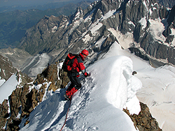 Salita al FINSTERAARHORN 4.274 m.