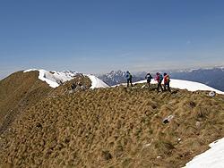 Sulla dorsale Plagne-Banera-Nische