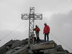 croce di vetta della Punta Bianca (Hoher Weißzint)