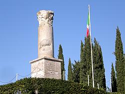 La colonna romana sul Colle Sant'Elia