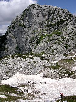 """Il monte Robon dalla """"Mulattiera del Poviz"""""""