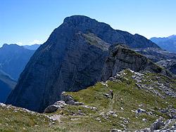 Verrso il monte Rombon