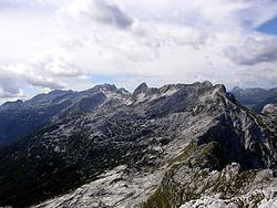 Panorama dal Rombon