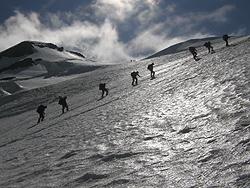 Salita al monte Castore