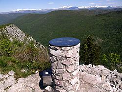 La cima del monte Sabotino