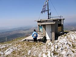 La vetta del monte Grmada na Slavniku