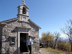 Vremščica  chiesetta  di San Urbano