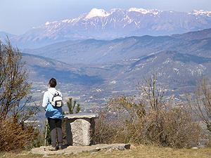 Vista sul monte Nero