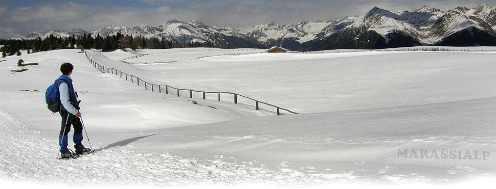 Le candide distese dell'Alpe di Rodengo