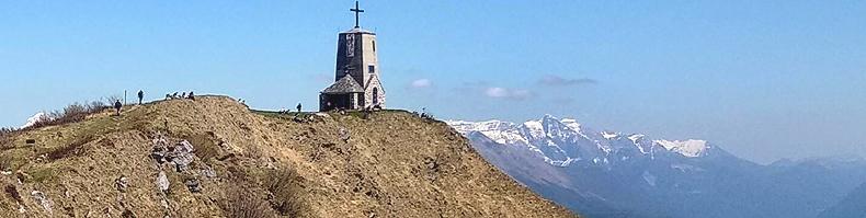 Panorama dalla sommità del monte Cuarnan