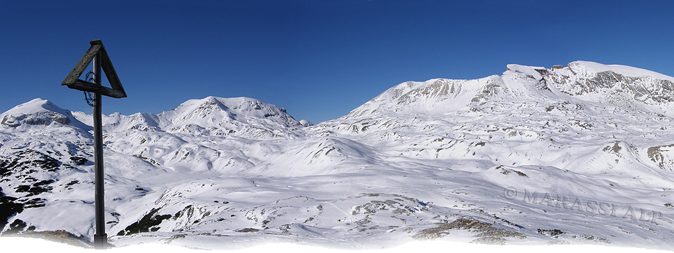 La cima del Col di Lasta Piccolo