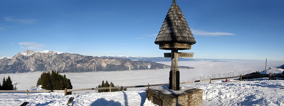 Panorama dal monte Forno