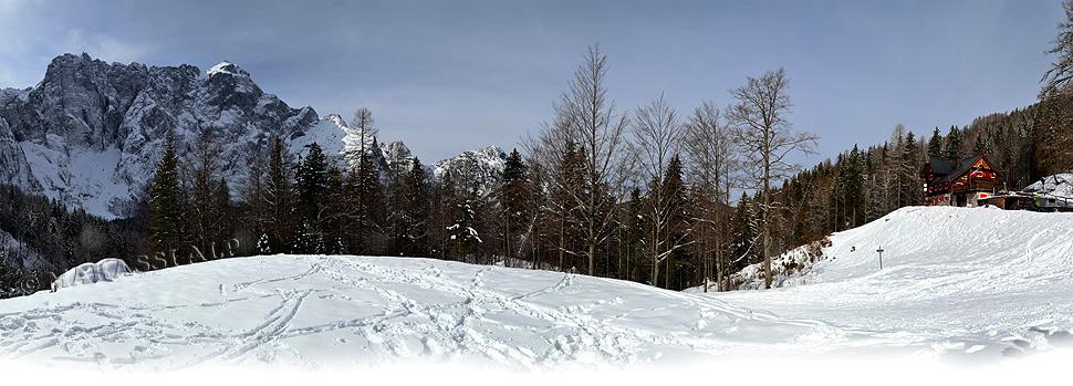 Panorama verso il rifugio Zacchi