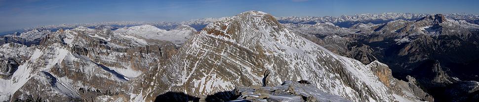 Panorama dalla Tofana di Mezzo