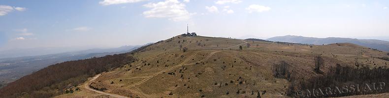 Il monte Slavnik (Taiano)