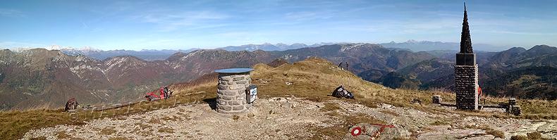 Cima monte Porezen