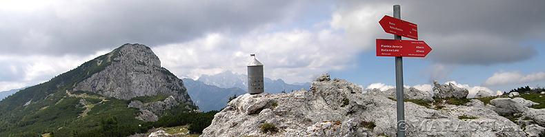 Raduha, il monte Lanež