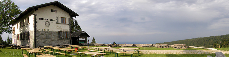 Il rifugio Ribniška Koča