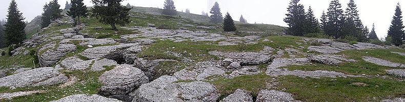La cima del monte Castelgomberto