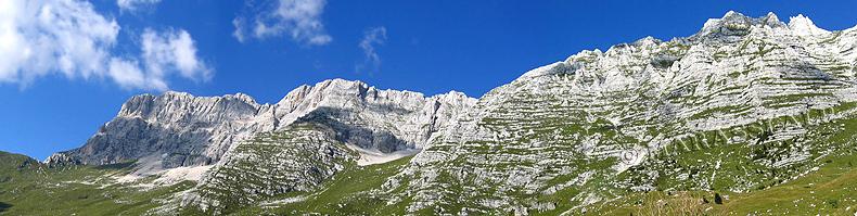 La catena del Montasio