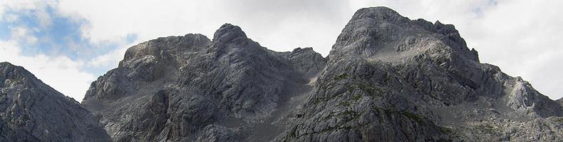 L'articolata cima del monte Coglians