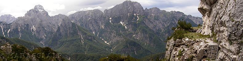 sentiero Battaglione alpini Gemona