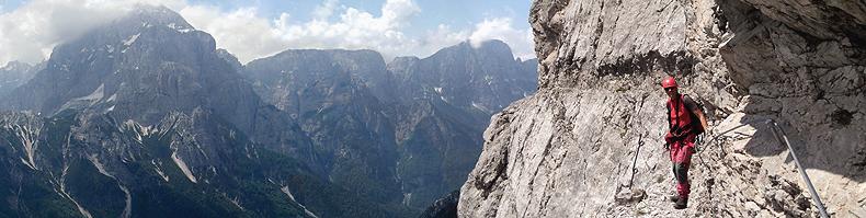"""sentiero """"Battaglione alpini Gemona"""""""