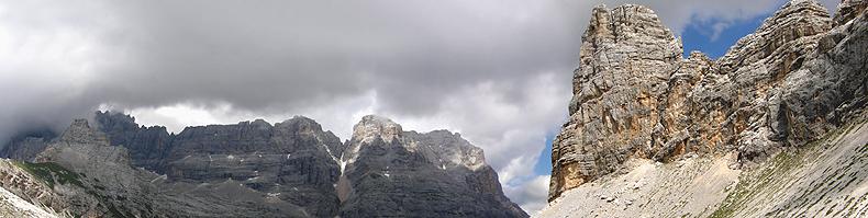 La Torre dei Sabbioni da Forcella Grande