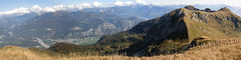 Sentiero delle Creste, monte Lovinzola