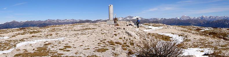 La cima del monte Ortigara